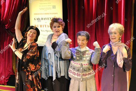 'Gay's the Word' - Elizabeth Seal as Madame Nicolini, Gaye Brown as Monica, Myra Sands as Margaret, Eileen Page as Birdie