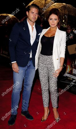 David Peters and Amy Childs