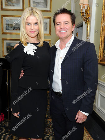 Alice Eve and Charles Worthington