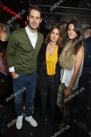 Jamie Redknapp, Louise Redknapp and Stephanie Smart