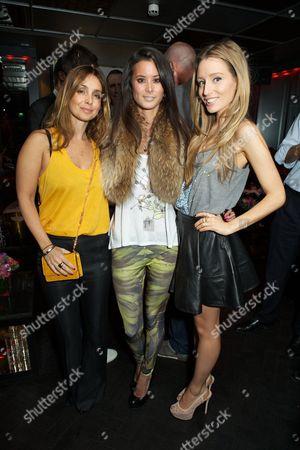 Louise Redknapp, Stephanie Smart and Alexandra Bayley