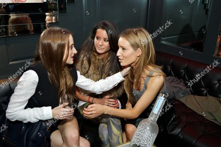 Rosie Fortescue, Stephanie Smart and Alexandra Bayley