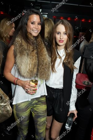 Stephanie Smart and Rosie Fortescue