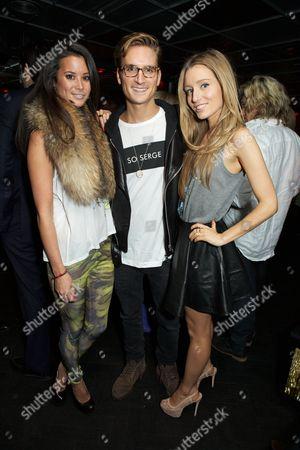 Stephanie Smart, Oliver Proudlock and Alexandra Bayley