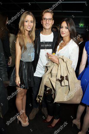 Alexandra Bayley, Oliver Proudlock and Roxie Nafousi