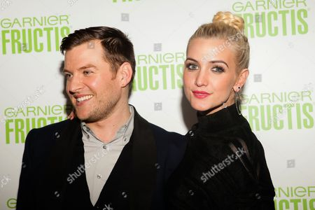 Stock Picture of Tommy Buckett and Ashlee Simpson