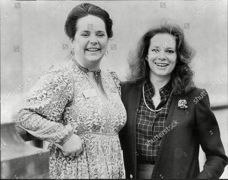 Carole Kulick And Luciana Paluzzi Actress.