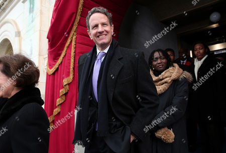 Stock Photo of Secretary of the Treasury Timothy Geithner