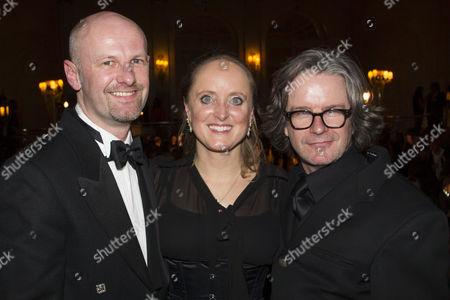 Bruce MacKinnon (Producer), Lucinda Dickens Hawksley and Graham McLaren (Director)