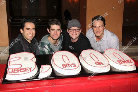 Editorial picture of 'Jersey Boys' cast celebrates 3,000th Performance, New York, America - 07 Feb 2013