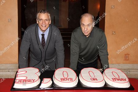 Editorial image of 'Jersey Boys' cast celebrates 3,000th Performance, New York, America - 07 Feb 2013