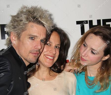 Stock Image of Ethan Hawke, Stephanie Janssen, Zoe Kazan