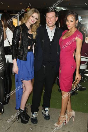 Lydia Hearst-Shaw, Tommy Buckett and Dania Ramirez