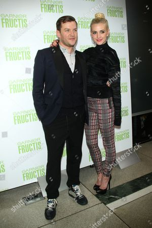 Stock Image of Tommy Buckett and Ashlee Simpson