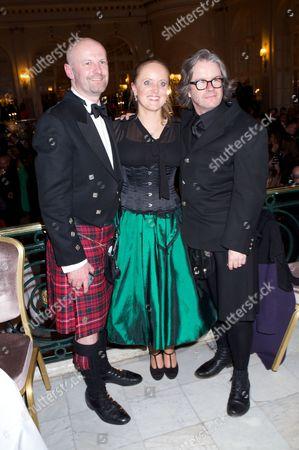 Bruce Athol MacKinnon, Lucinda Dickens Hawksley & Graham McLaren