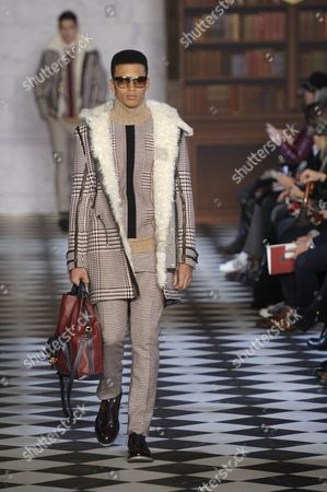 Editorial picture of Tommy Hilfiger show, Fall 2013 Mercedes-Benz Fashion Week, New York, America - 08 Feb 2013