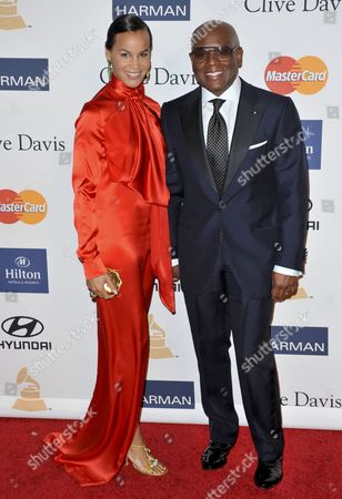 Erica Reid and Antonio ' L.A.' Reid
