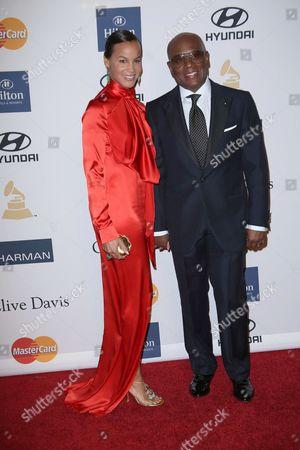 Erica Reid and L.A Reid