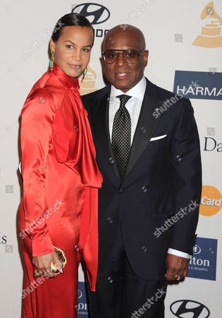 LA Reid and wife Erica Reid