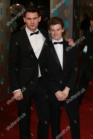 Jeremy Irvine and Toby Irvine