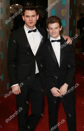 Stock Image of Jeremy Irvine and Toby Irvine