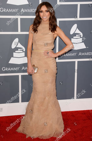 Editorial photo of 55th Annual Grammy Awards, Arrivals, Los Angeles, America - 10 Feb 2013