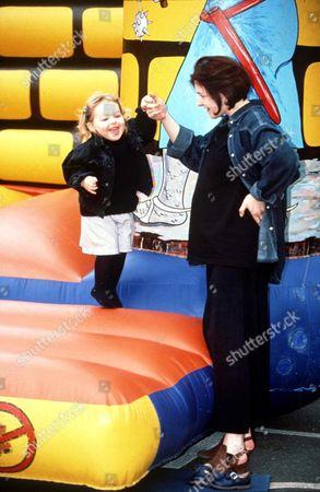 MARINA OGILVY WITH HER DAUGHTER ZENOUSKA