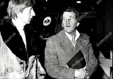 Actor And Comedian Lance Percival (right) At The Motor Show With Actor Jeremy Lloyd (left) Lance Percival (born 26 July 1933) Is An English Actor Comedian And After-dinner Speaker.