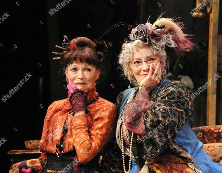 'Dear World' - Annabel Leventon as Constance and Betty Buckley as Countess Aurelia;