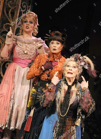 'Dear World' - Rebecca Lock as Gabrielle, Annabel Leventon as Constance and Betty Buckley as Countess Aurelia