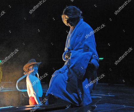 Editorial photo of 'Playing Cards 1; Spades' play at the Roundhouse, London, Britain - 07 Feb 2013