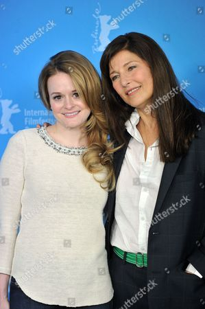 Fallon Goodson and Catherine Keener