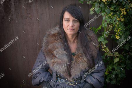 Editorial image of Former Ndrangheta mafia princess Marisa Merico, Blackpool, Lancashire, Britain - 8 Feb 2013