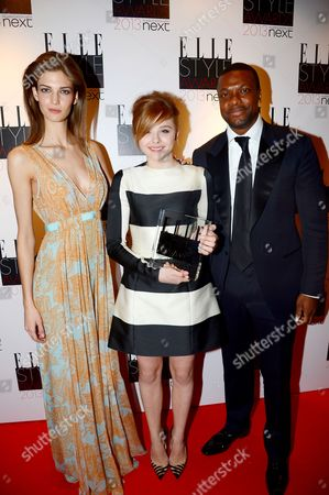Stock Image of Kendra Spears, Chloe Grace Moretz and Chris Tucker