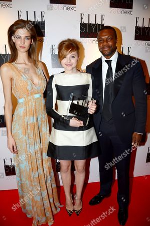Kendra Spears, Chloe Grace Moretz and Chris Tucker