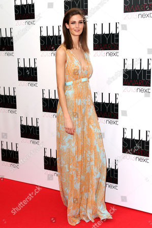 Editorial picture of Elle Style Awards, London, Britain - 11 Feb 2013