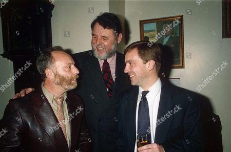 L-R: BRIAN KEENAN, TERRY WAITE AND JOHN MCCARTHY