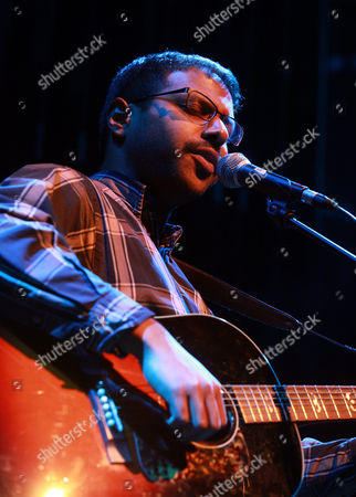 Editorial photo of Bhi Bhiman in concert at the Purcell Room, Southbank Centre, London, Britain - 08 Feb 2013
