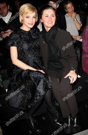 Jessica Stam and Trish Goff