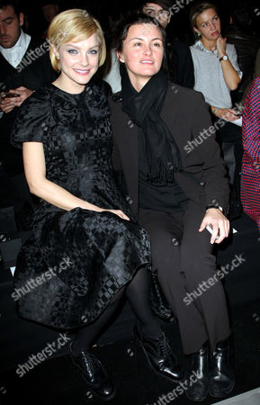 Jessica Stam and Trish Goff