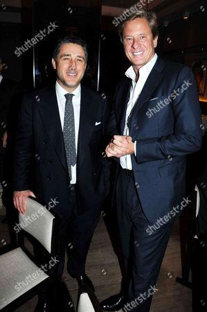 Stock Image of Luca Del Bono and Rob Hersov