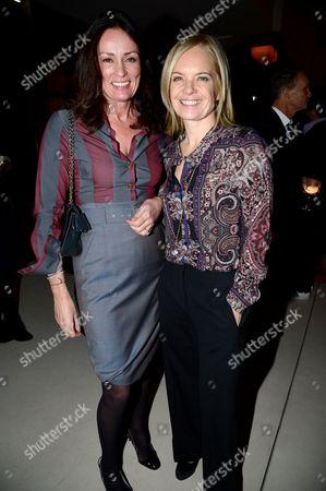 Tricia Ronane and Mariella Frostrup