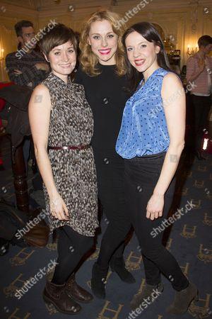 Amy Cudden, Kelly Price and Rhona Croker