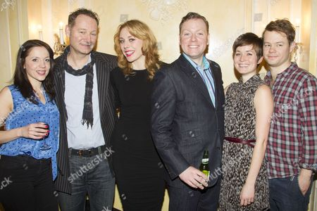 Rhona Croker, Richard Bean, Kelly Price, Rufus Hound, Amy Cudden and Sam Alexander