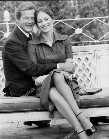 Roger Moore And Barbara Kellerman Who Are To Star In The Sea Wolves' Together.