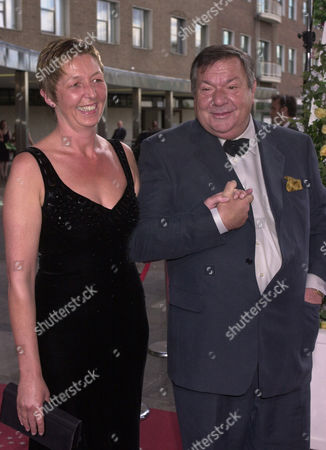Michael Elphick and wife