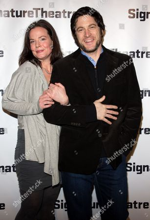 Stock Image of Danielle Skraastad and David Conrad