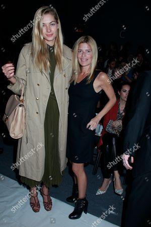 Jessica Hart and Lizzie Grubman