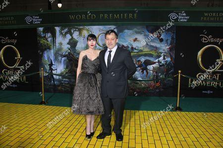 Gillian Greene and Sam Raimi