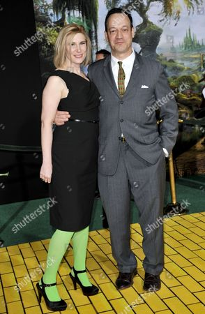 Stock Picture of Suzanne Keilly and Ted Raimi